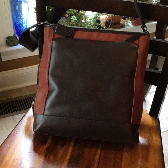 Coach Handbags - Coach Camden leather tech bag F71441 dusk/dark